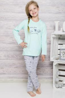 girls' pajama 690 mint
