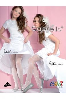 girls' pajama 759 Liza white