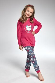 girls' pajama 977/103 Owl