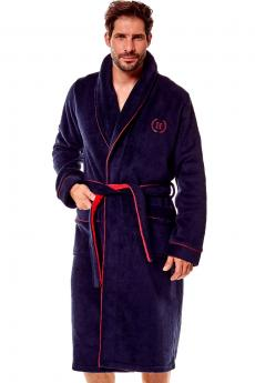 Men's bathrobe 36375 Got 59x blue