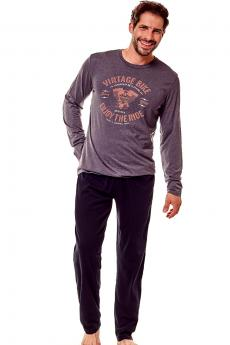 Men's pajama 36202 Flame 90x graphite