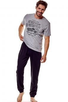 Men's pajama 36204 Force 90x graphite
