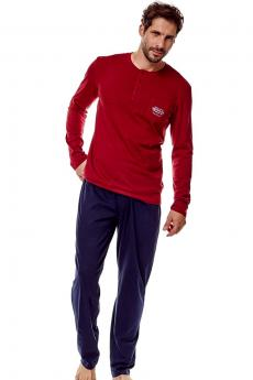 Men's pajama 36213 Guru 33x red