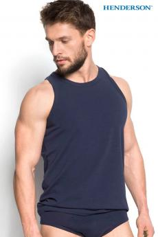 Men's t-shirt 18732 Brass blue