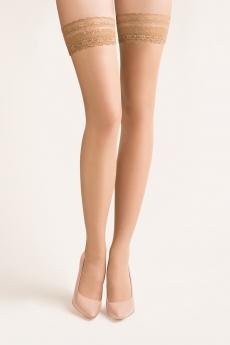 Self-tights stockings Calze beige
