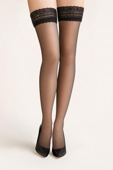 Self-tights stockings Calze nero