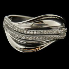 Silver ring 56342