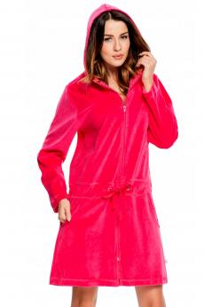 Woman bathrobe 1008 Rose