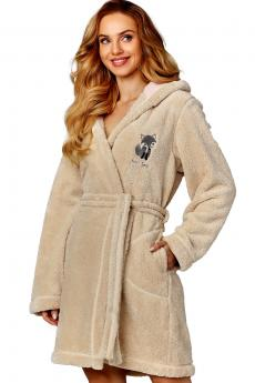 Woman bathrobe 8122 angora