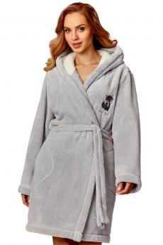 Woman bathrobe 8122 crystal