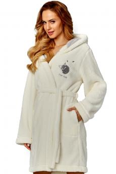 Woman bathrobe 8122 ecru