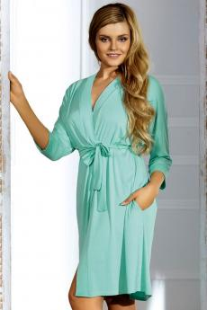 Woman bathrobe Bianca mint