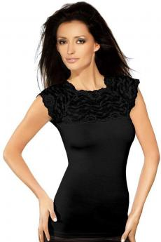 Woman blouse Elina black