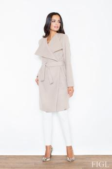 Woman coat M408 beige