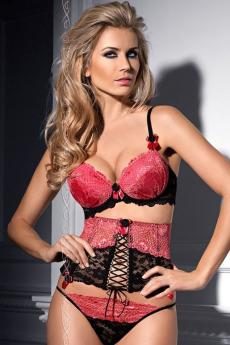 Woman corset V-4852 Berry Mousse
