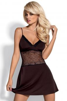 Woman luxury chemise Lamia chemise brown XL