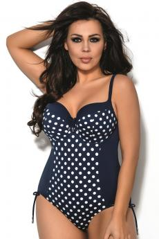 Woman one piece swimsuit 18 Dots