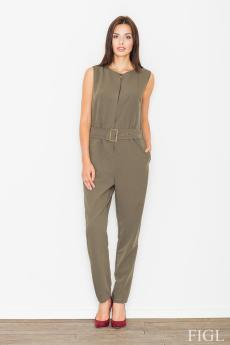 Woman overall M488 olive