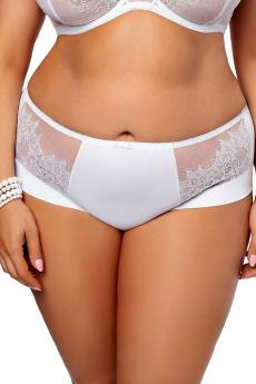 Woman panties K 469 White lilly