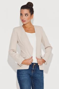 Women's jacket K063 beige
