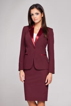 Women's jacket M154 wine