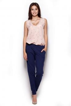 Women's jeans and trousers M305 granat