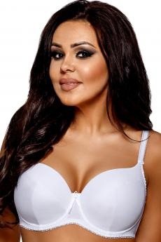 Women's  brassiere 1263 plus white