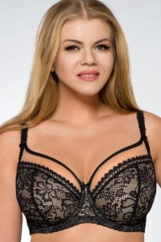 Women's  brassiere 1396 plus black