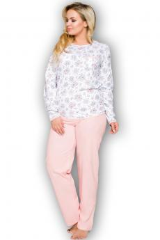 Women's plus size pajama Kate 2132 pink
